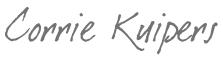 corrie signature