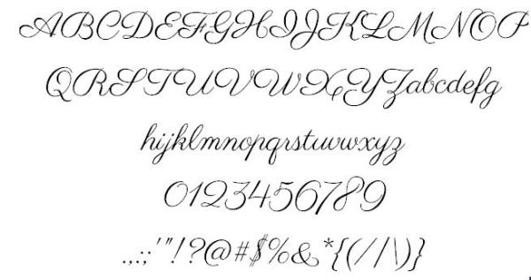 5-2014 parisien font