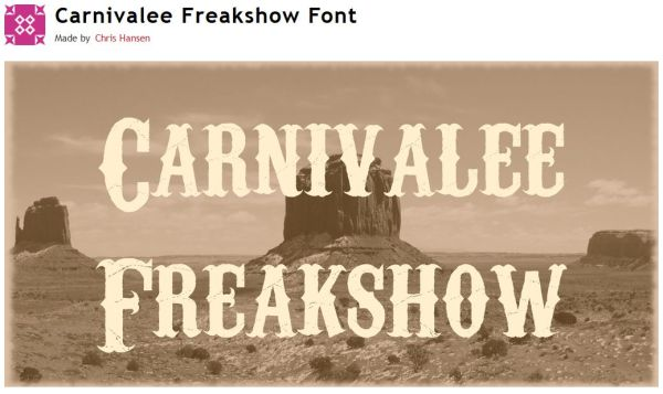 FireShot Screen Capture #331 - 'Carnivalee Freakshow Font · 1001 Fonts' - www_1001fonts_com_carnivalee-freakshow-font_html