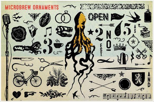 FireShot Screen Capture #474 - 'Microbrew Ornaments ~ Symbol Fonts on Creative Market' - creativemarket_com_jhilgert00_50751-Microbrew-Ornaments