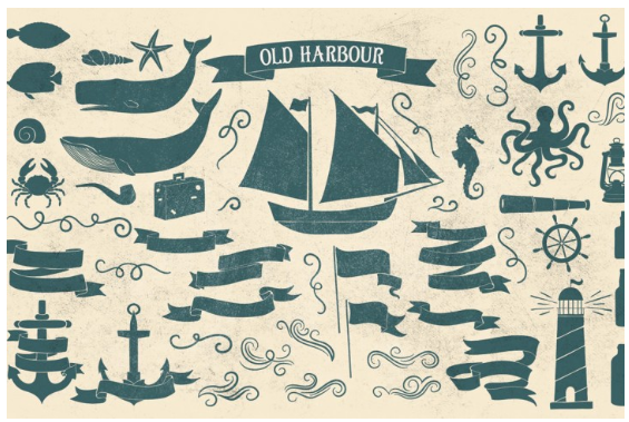 Old Harbour vintage font collection by Anastasia Dimitriadi - TheHungryJPEG.com 2016-05-04 14-30-55