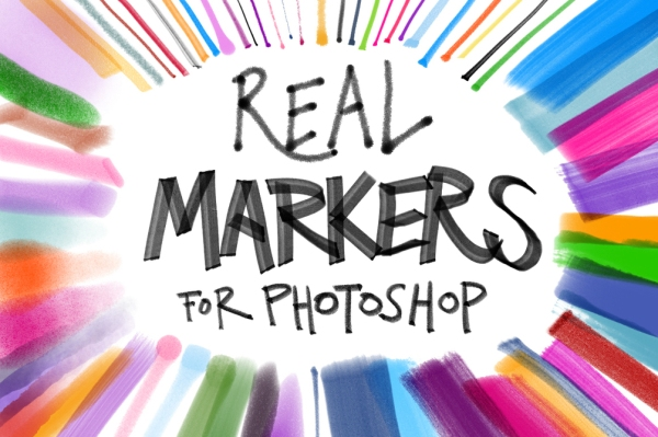 creativemarket_real_marker_brushes_cover