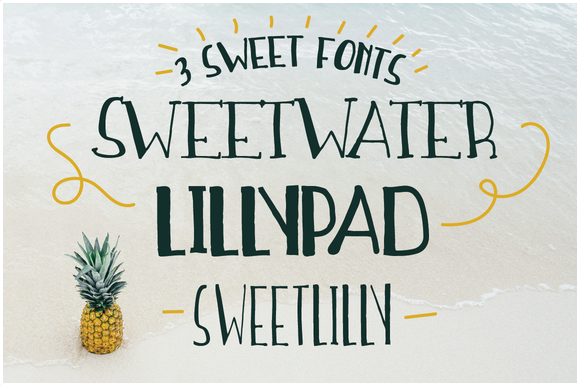 Sweetwater Handwritten Font Trio ~ Slab Serif Fonts on Creative Market 2016-06-08 20-56-10