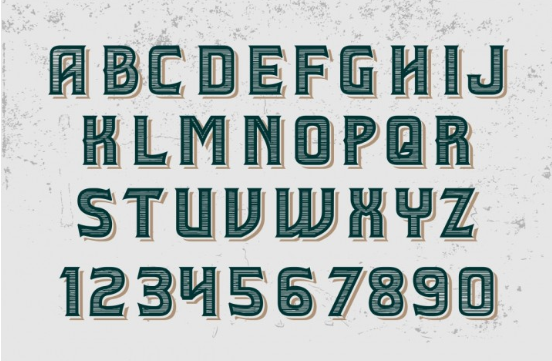 Vintage Label Typeface - Retro Mobile by Vintage Font Lab - TheHungryJPEG.com 2016-08-24 14-16-14