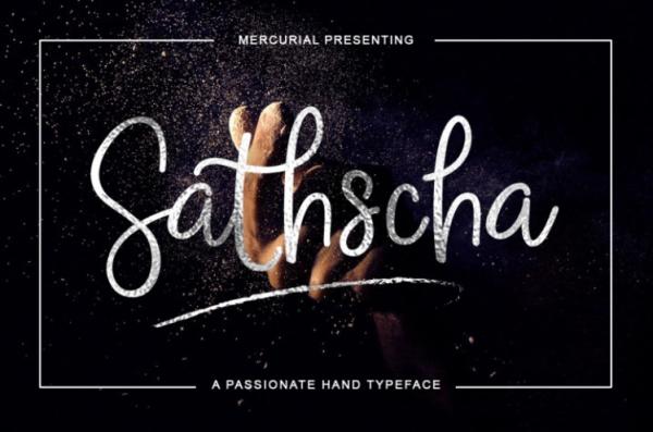 sathscha-script-by-thehungryjpeg-thehungryjpeg-com