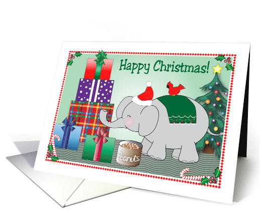 christmas-elephant-theme-presents-tree-holly-card-1435778