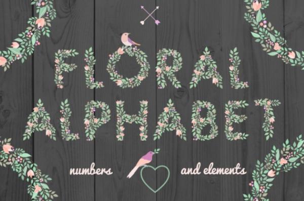 free-floral-alphabet-by-thehungryjpeg-thehungryjpeg-com