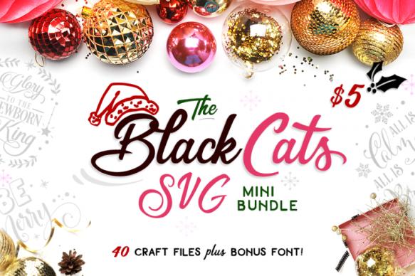 Font Frenzy The Black Cats Svg Mini Bundle Gcu Community