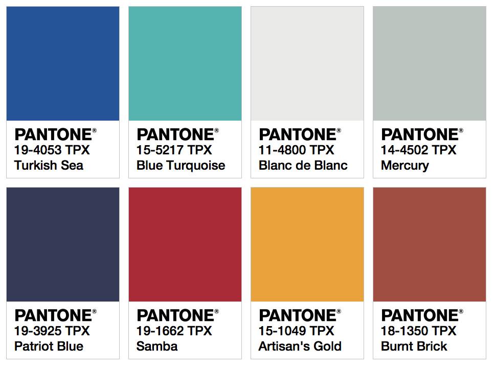 Rainbow connection pantone color trends for 2018 gcu for 2018 winter colors